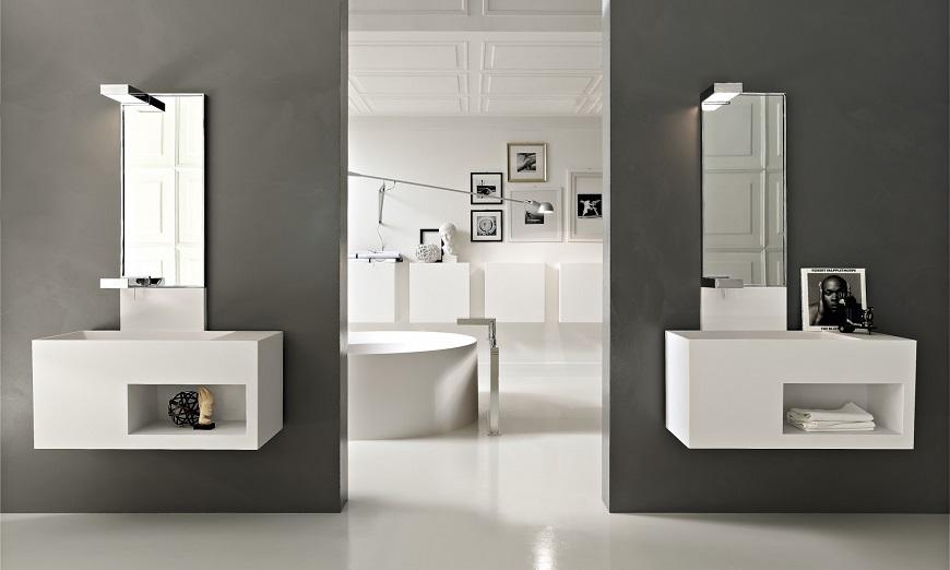 arredo bagno moderno Roma